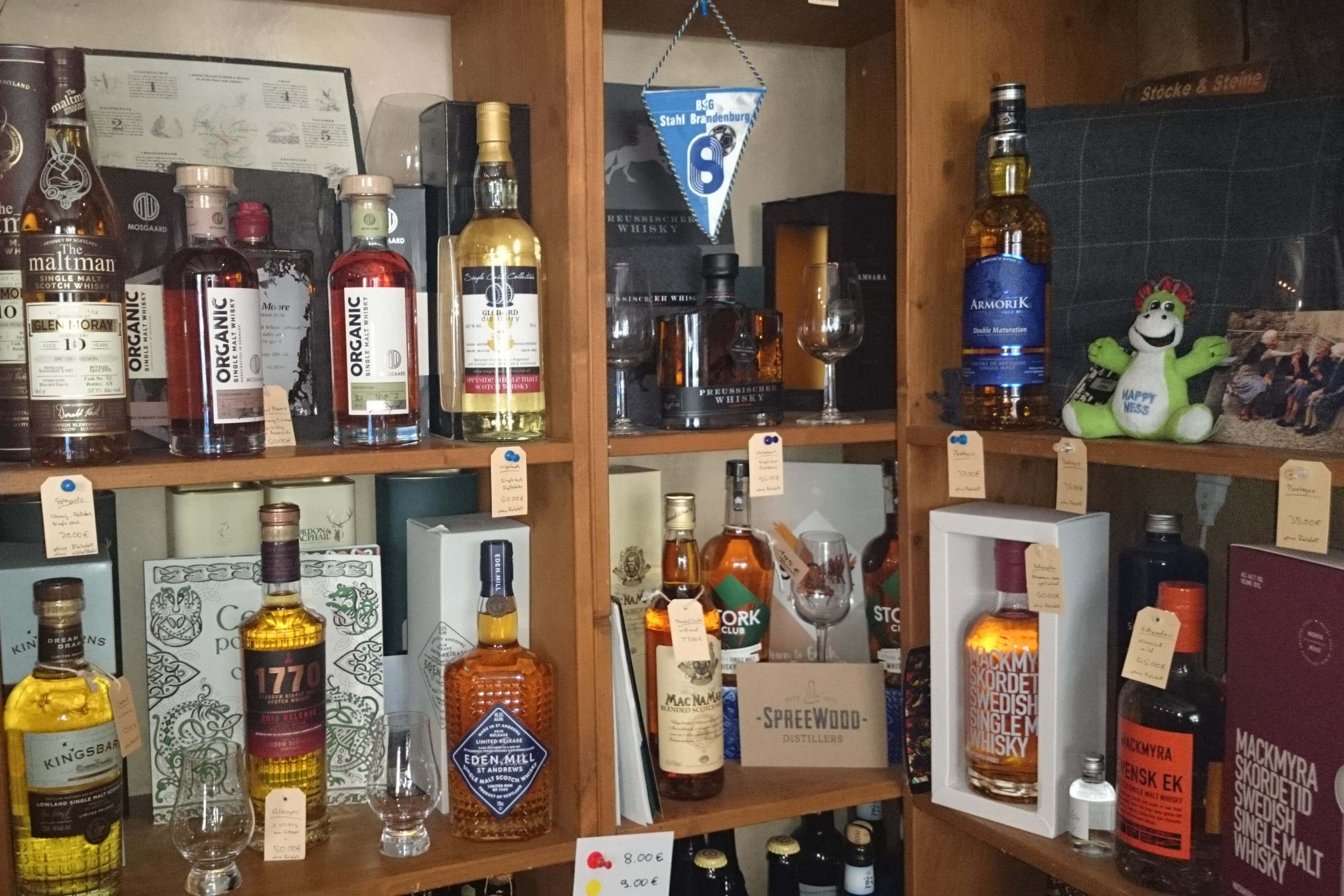 Whisky Center Jena Shop