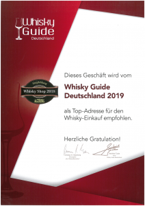 Whisky Guide Deutschland 2019